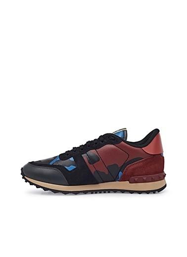 Valentino Sneaker Ayakkabı Erkek Ayakkabı S0723 Tcc An1 Mavi